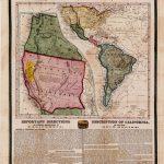 California Gold Rush Broadside   Rare & Antique Maps   California Gold Mines Map