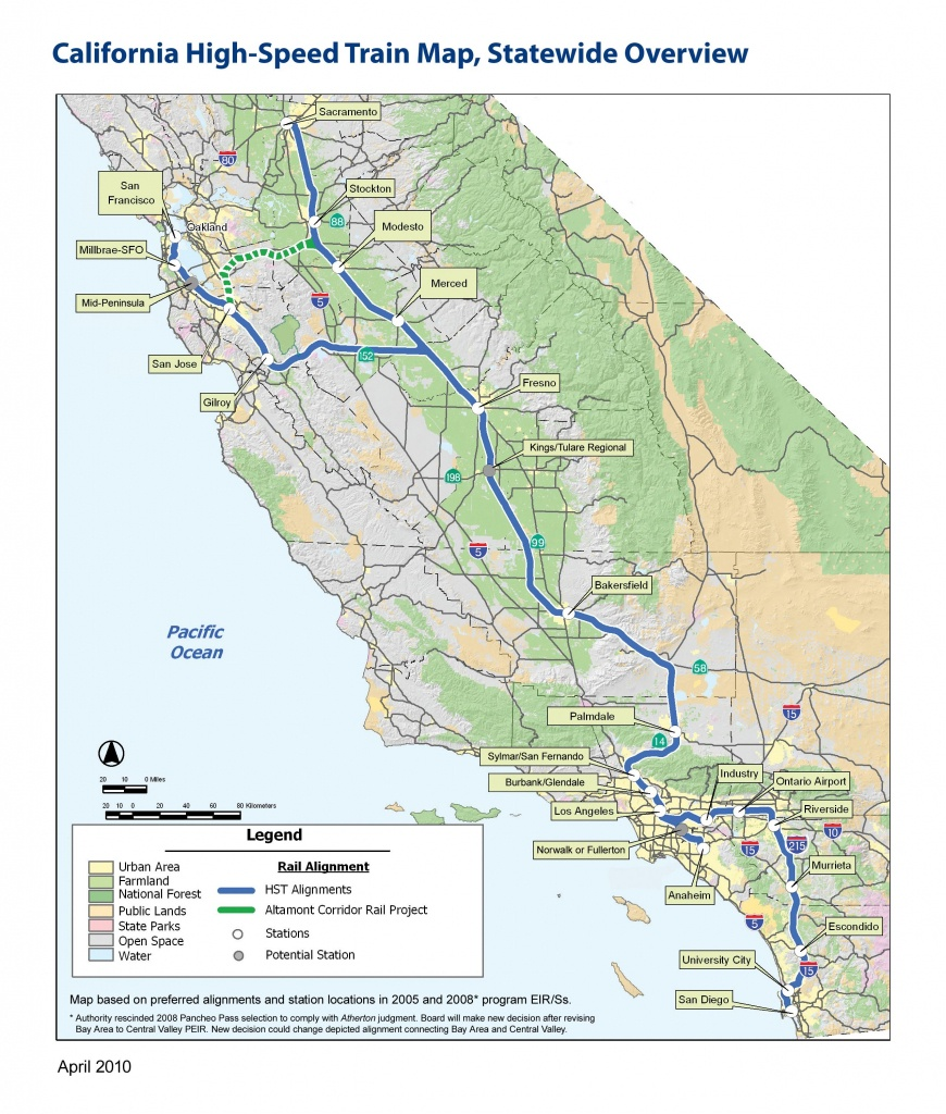 California High Speed Rail Map | Mapping California | California - California High Speed Rail Map