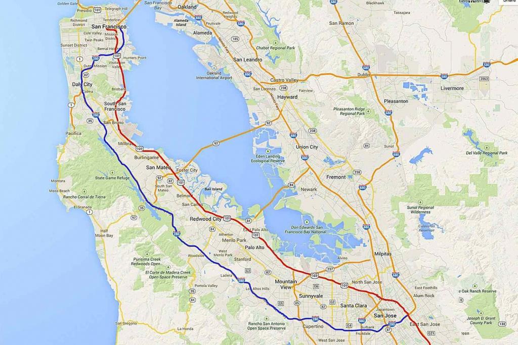 California Highway 101: La To San Francisco Road Trip - Highway 101 California Map