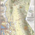 California Hiking Map   Southern California Trail Maps