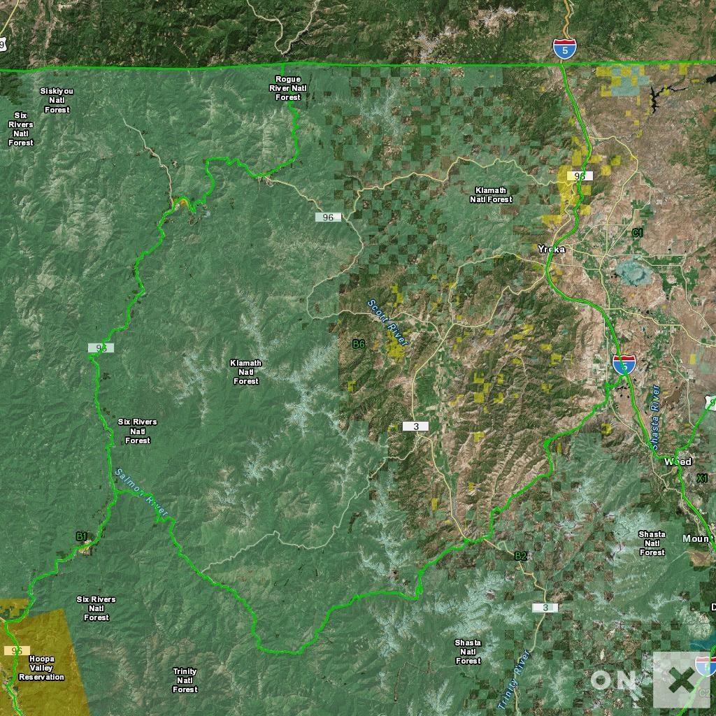 California Hunt Zone B6 Deer - California B Zone Deer Hunting Map