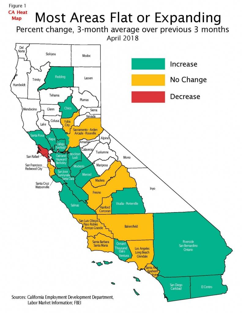 California Job Tracker-May – California State Treasurer's Office - Southern California Heat Map