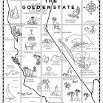California Map Mural | *4Th Grade California | California Map, 4Th - California Regions Map Printable