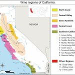 California Map Of Vineyards Wine Regions   California Ava Map