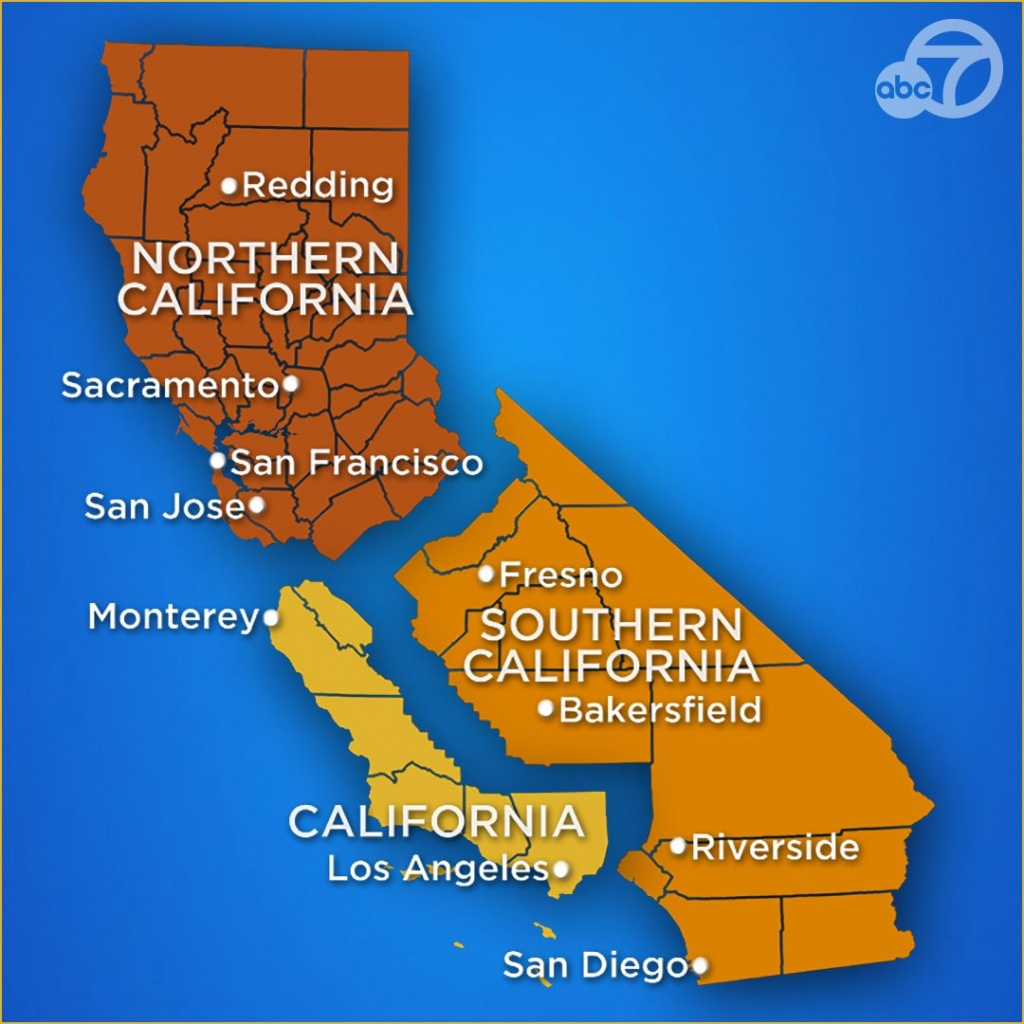 California Might Split Into 3 States. The Us Should Only Keep One Of - New California Map 3 States
