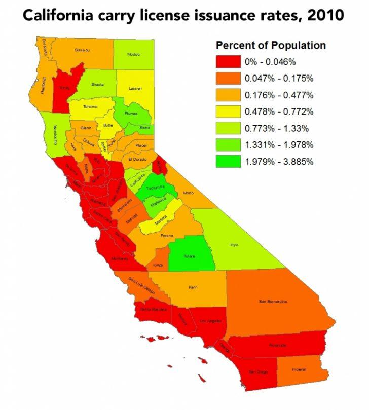 California Ccw Map