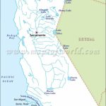 California River Map | Maps (Mostly Old) | Rivers In California, Map - California Rivers Map