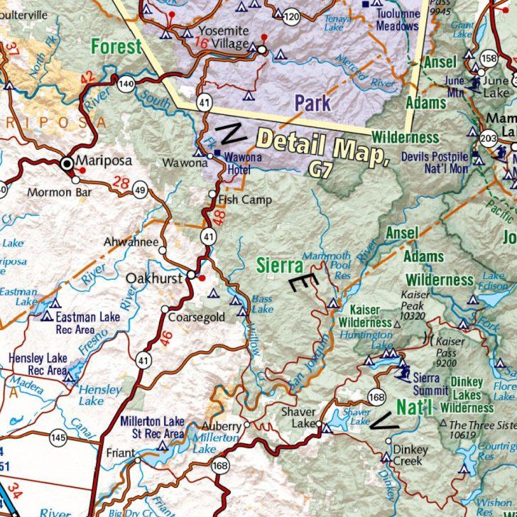 Benchmark Maps California