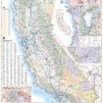 California Road Map — Benchmark Maps - Road Map From California To Texas