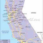 California Road Map, California Highway Map   Map Of Southern California Freeway System