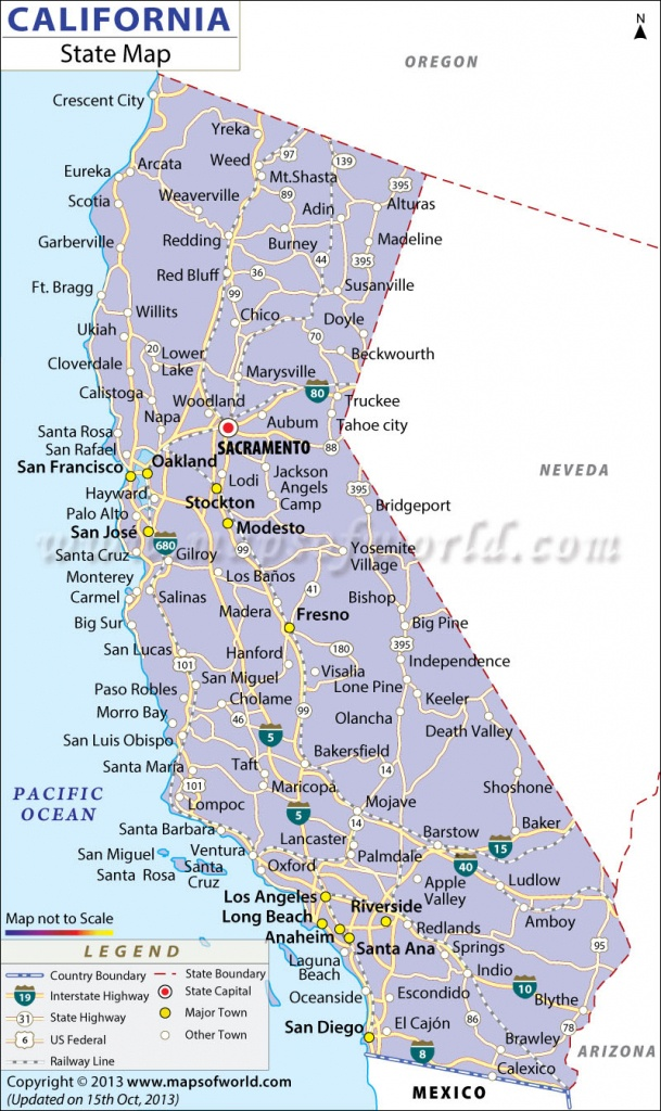 California State Map - California State Map Pictures