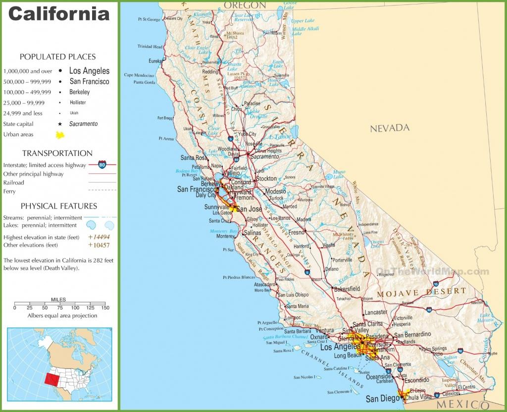 California State Maps | Usa | Maps Of California (Ca) - California State Map