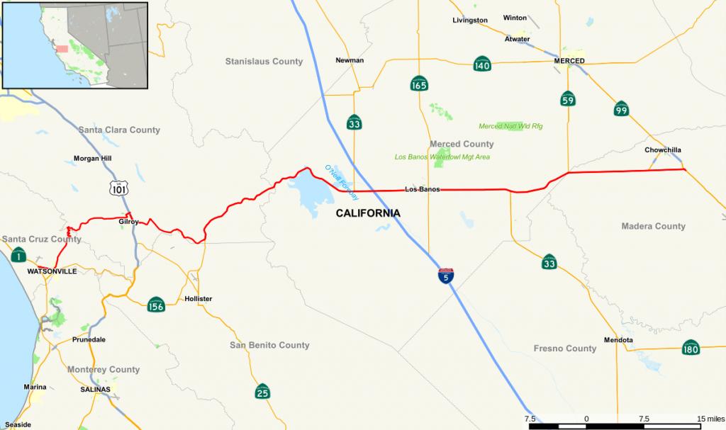 California State Route 152 - Wikipedia - Highway 41 California Map