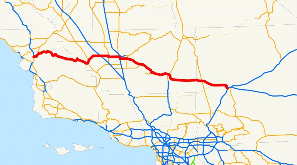 California State Route 58 - Wikipedia - Highway 41 California Map