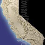California Terrain Models   Terrain Model   Howard Models   California Terrain Map