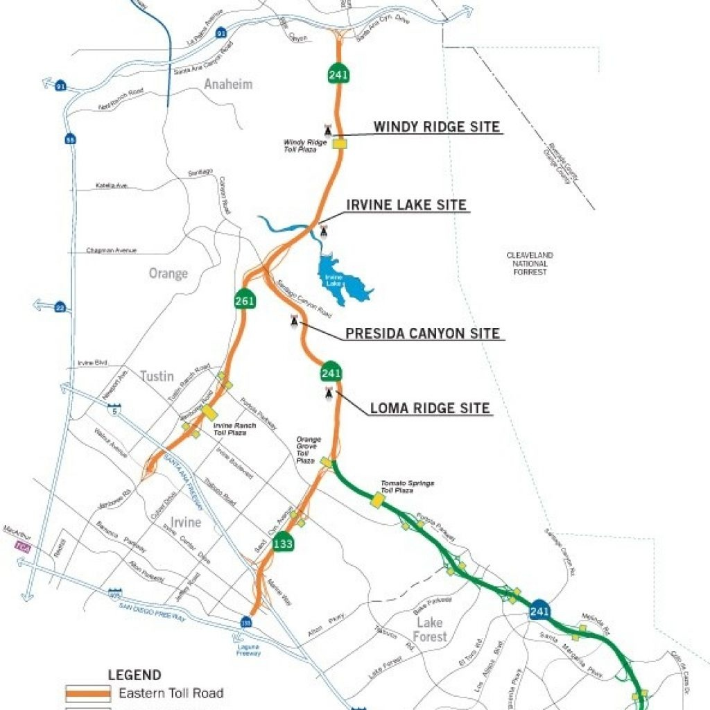 California Toll Roads Map Best Photo Gallery Websites Southern - Southern California Toll Roads Map