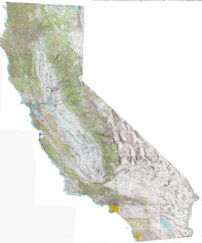 California Topographic Map | D1Softball - California Topo Map Index
