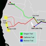California Trail   Wikipedia   California Lead Free Zone Map