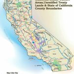 California Unratified Treaties Map   California Indian History   California Indian Map