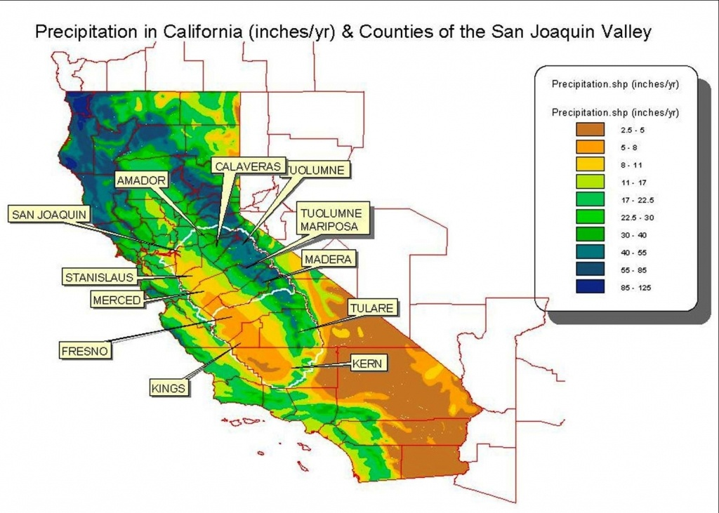 California Water Rights In California Map With Cities California - California Water Rights Map