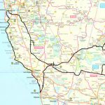 California West Coast Road Map – Map Of Usa District - Detailed Map Of California West Coast