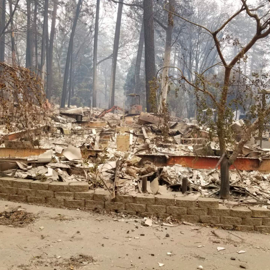 California Wildfire: Map Shows Homes Destroyed The Camp Fire - Curbed Sf - Map Of Northern California Campgrounds