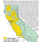 California Zone Map For Deer Hunting – Map Of Usa District - Deer Hunting Zones In California Maps