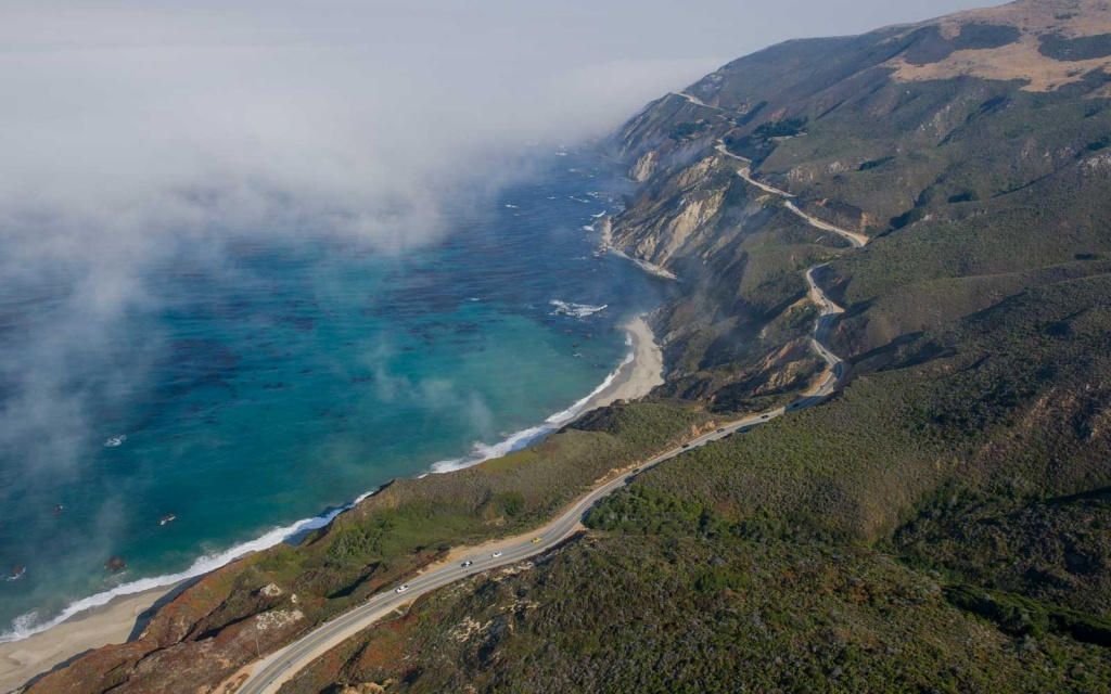 California's Highway 1 Is Open — Here Are The Best Stops From - California Highway 1 Scenic Drive Map