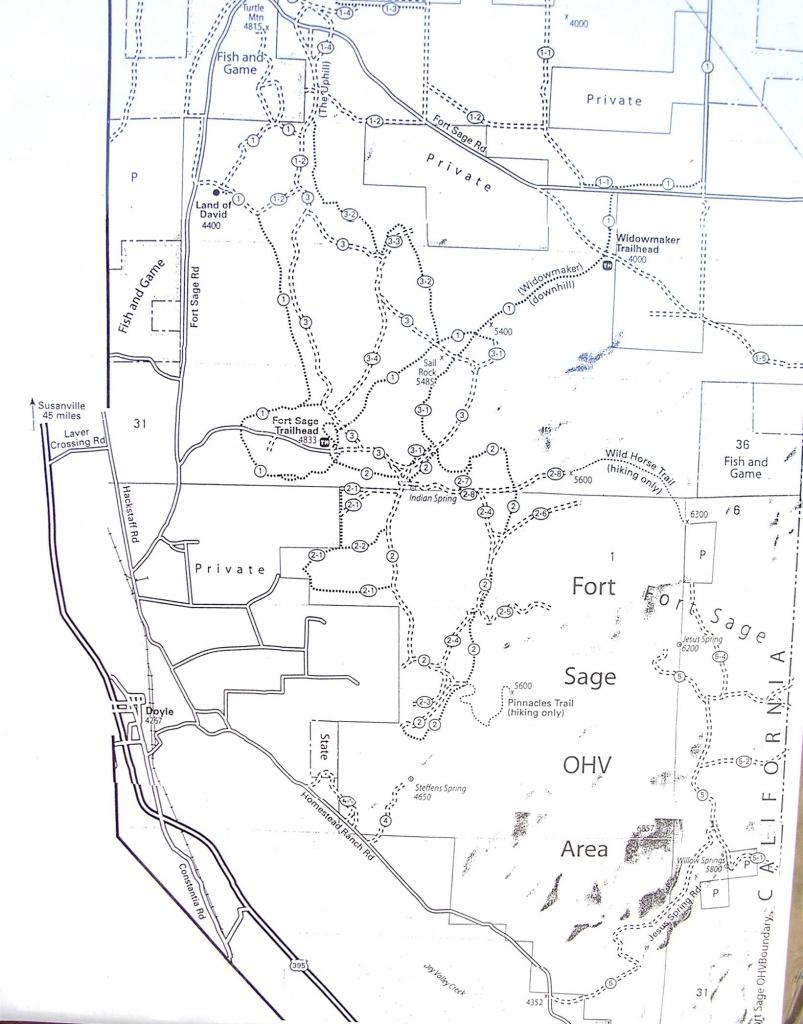 Californias Least Accessible Ohv Area: Off-Road - Blm Ohv Maps California