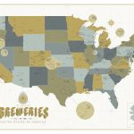 Calling All Beer Nerds This Incredibly Detailed Craft Brewery Map   California Beer Map