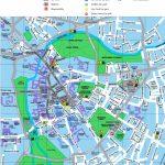 Cambridge Tourist Map   Cambridge Tourist Map Printable