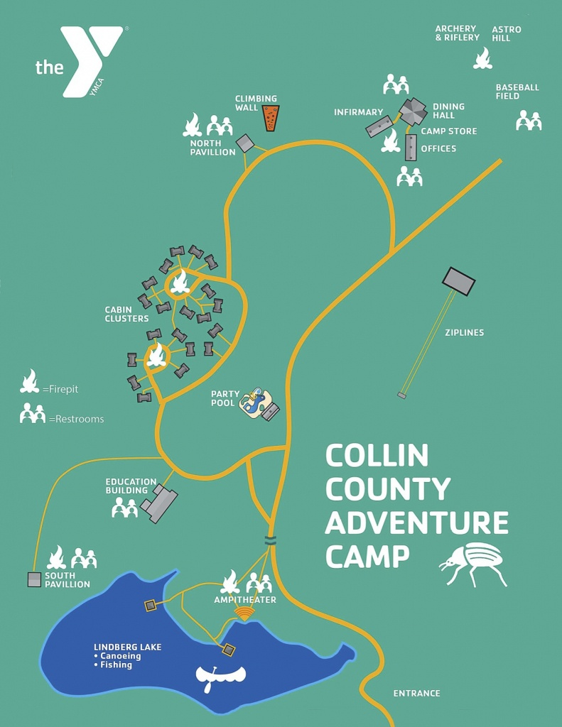 Camp Map | Collin County - Collin County Texas Map