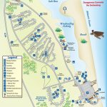 Campground Map Anastasia State Park | Florida | Florida Camping   St Augustine Florida Map Of Attractions