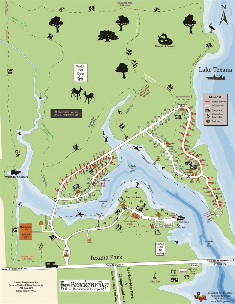 Campground Maps - Texas State Campgrounds Map