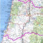 Camping Oregon Coast Map Map Of Oregon And California Coast Valid   Oregon California Coast Map