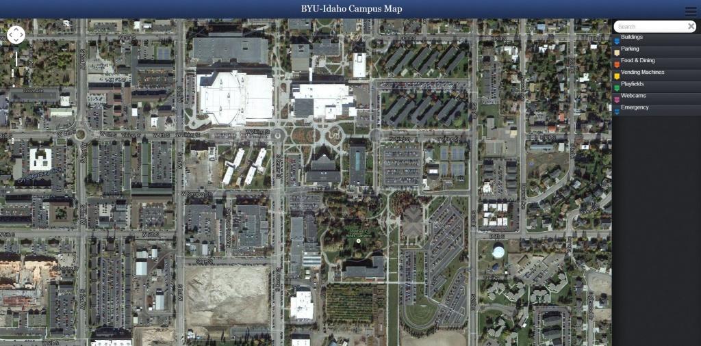 Campus Maps - Byu Campus Map Printable