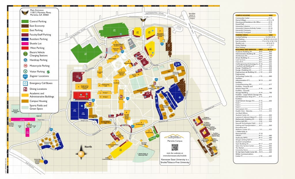 Campus Maps | Kennesaw State University - Texas Tech Housing Map