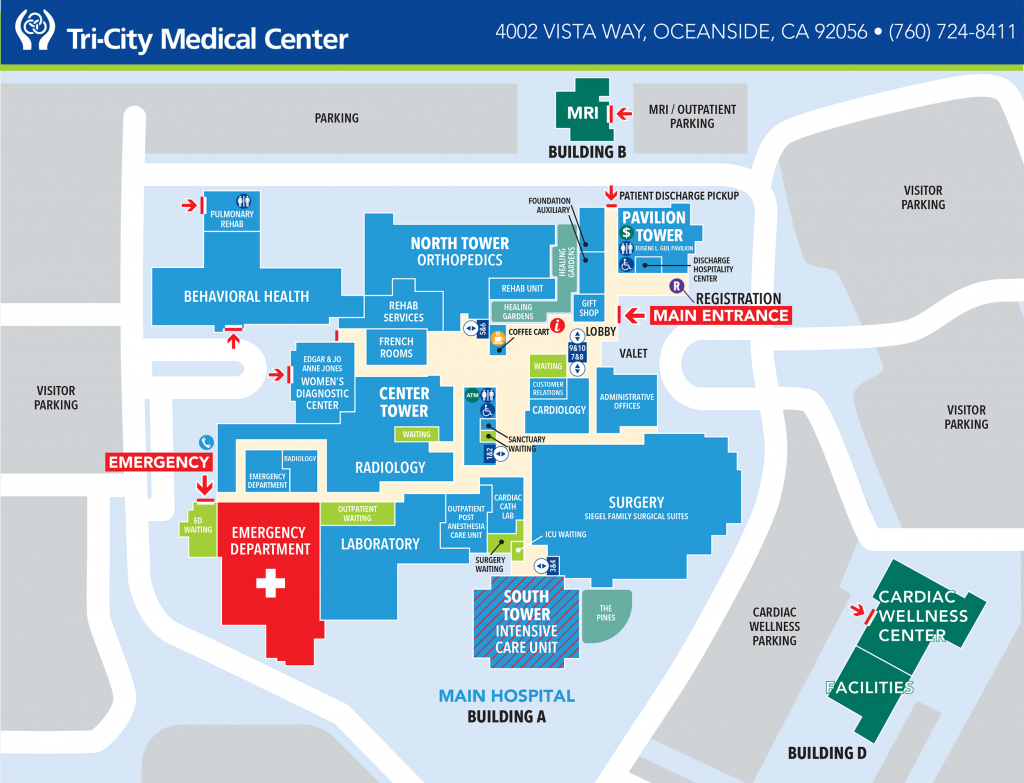 Campus Maps & Locations | Tri-City Medical Center - South Texas College Mid Valley Campus Map