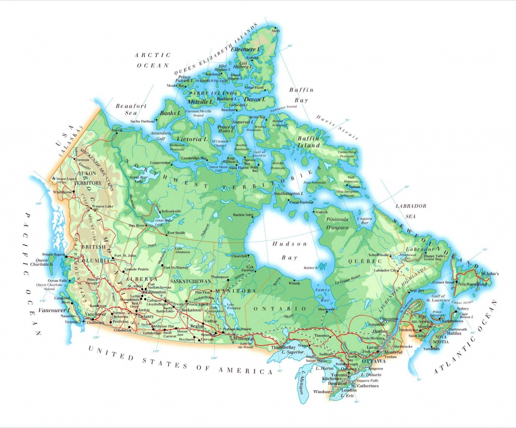Canada Maps | Printable Maps Of Canada For Download - Printable Map Of Canada