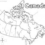 Canada Printable Map | Geography | Learning Maps, Map, Geography Of - Free Printable Map Of Canada