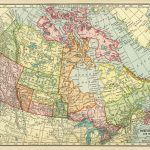 Canadian Map, Vintage Map Download, Antique Map Canada, C. S.   Canada Map Puzzle Printable
