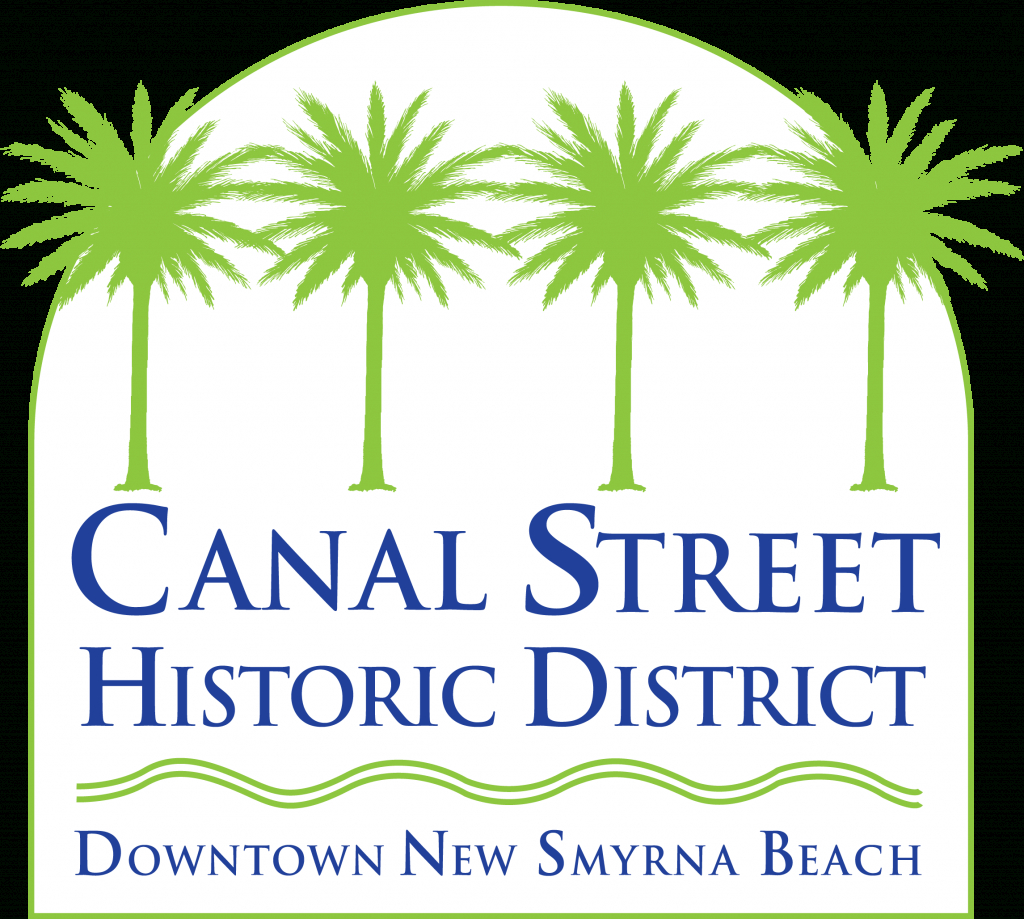 Canal Street Historic District New Smyrna Beach - Canal Street - Smyrna Beach Florida Map