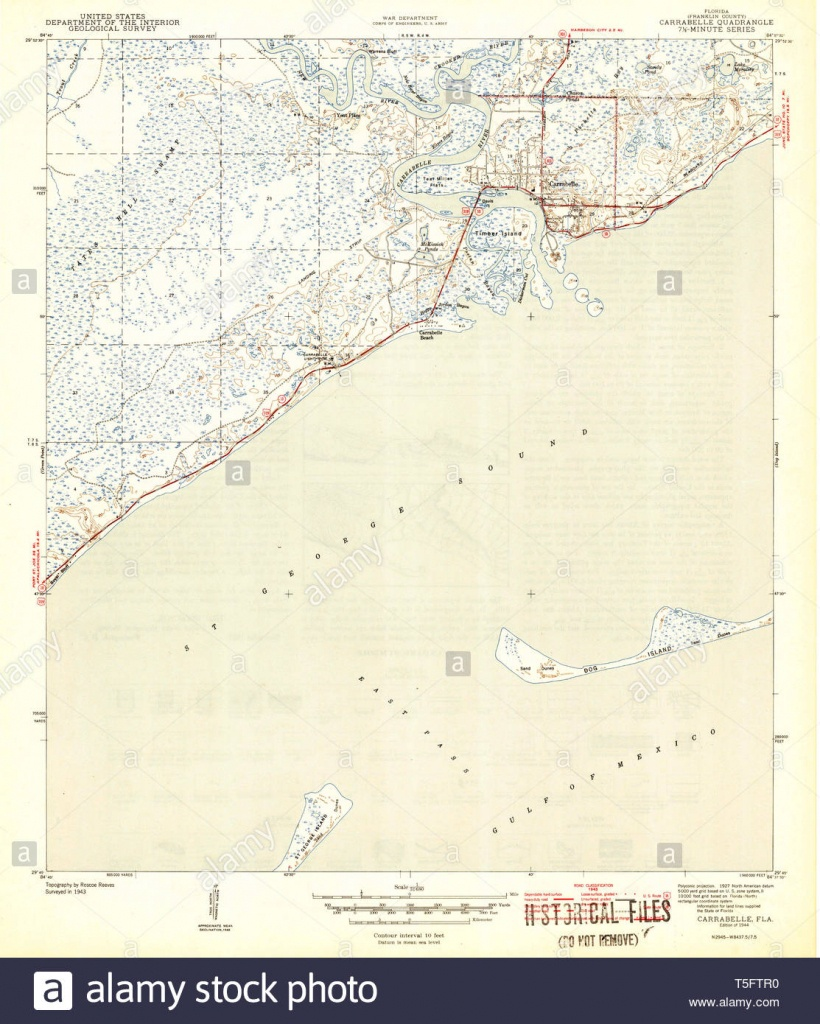 Carrabelle Stock Photos & Carrabelle Stock Images - Alamy - Carrabelle Island Florida Map