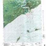 Carrabelle Topographic Map, Fl   Usgs Topo Quad 29084G6   Carrabelle Island Florida Map