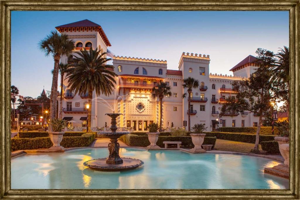 Casa Monica Resort & Spa   St. Augustine Florida Hotels - Map Of Hotels In St Augustine Florida