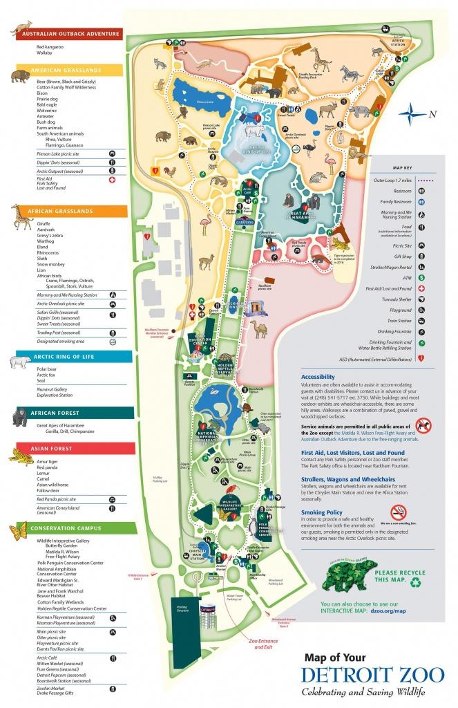 Category: Random Maps 532 | Buildyourownserver.co.uk - Printable Detroit Zoo Map