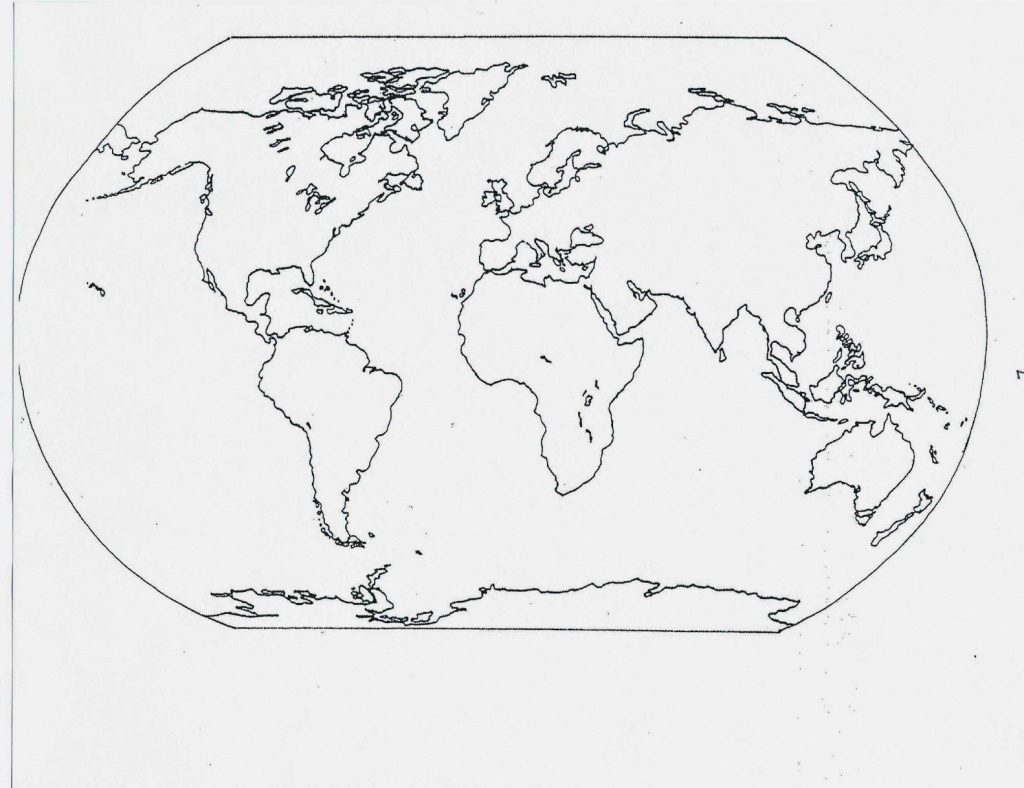 Catholic Schoolhouse: Year 3: Free Printable Blank Maps   Year 3 - Free Printable Map Of Continents And Oceans