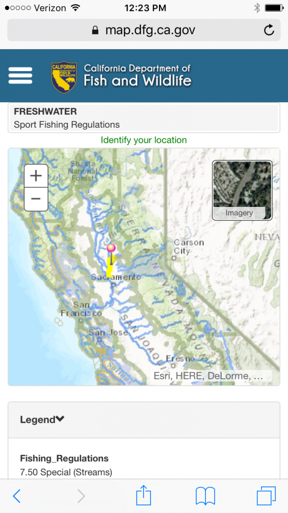Cdfw Makes Buying A License And Accessing Fishing Regulations Easier - California Fishing Regulations Map
