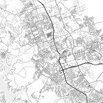 Cedar Park, Texas - Area Map - Light   Hebstreits Sketches - Cedar Park Texas Map
