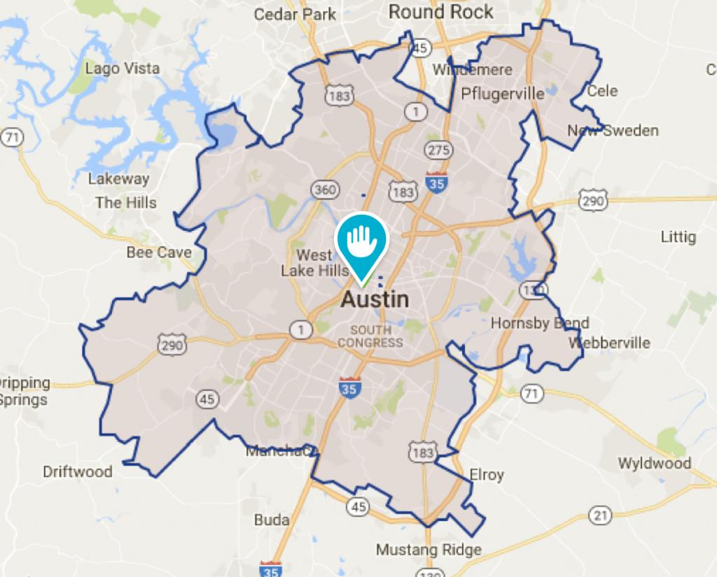 Cedar Park Tx House Cleaning And Maids | Morehands - Cedar Park Texas Map